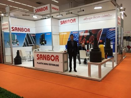 We exhibited in Road&Tunnel Exhibition 2016 in Ankara