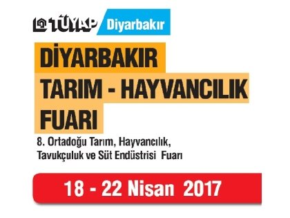 We exhibited in Agriculture Exhibition 2017 in Diyarbakır.