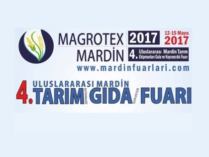 We exhibited in Agriculture Exhibition 2017 in Mardin.